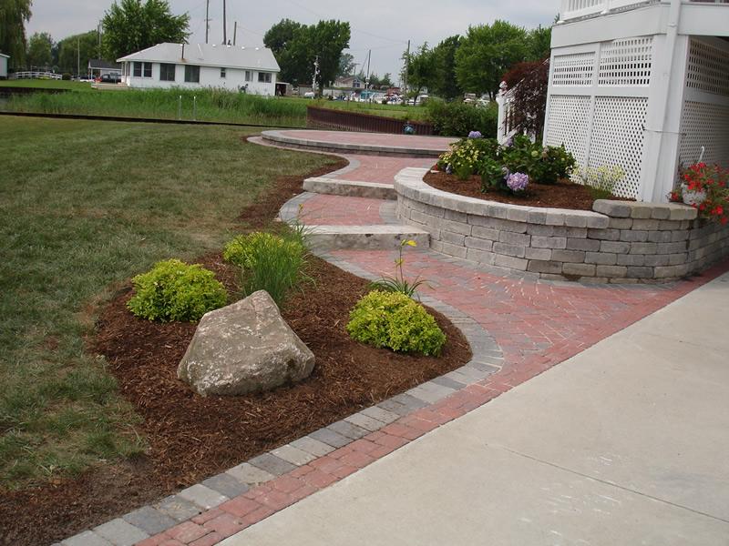Brickpaver Steps Macomb County