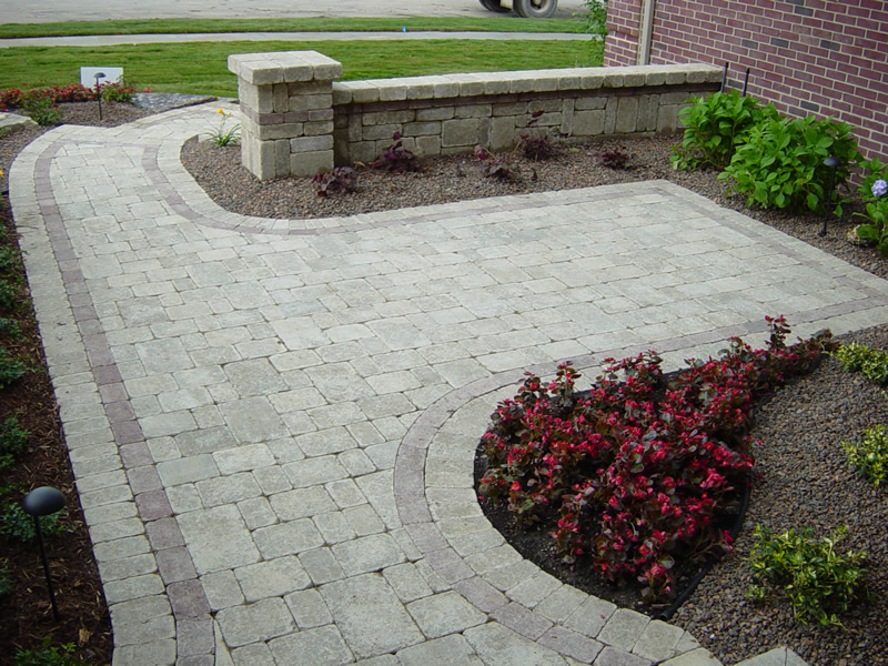 Brickpaver patio Macomb County