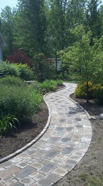 Brickpaver Walkway Macomb County