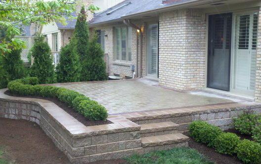 Macomb County Brickpaver patio