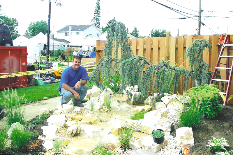Landscaping at Extreme Home Makeover