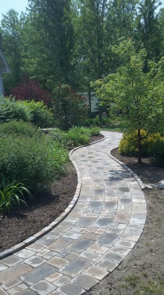 Brickpaver Walkway Macomb County