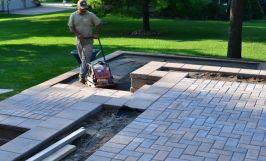 Brick Paver Patio, Washington Twp, Michigan Macomb County
