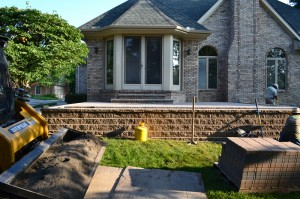 Brick Paver Patio, Washington Twp, Michigan Macomb County