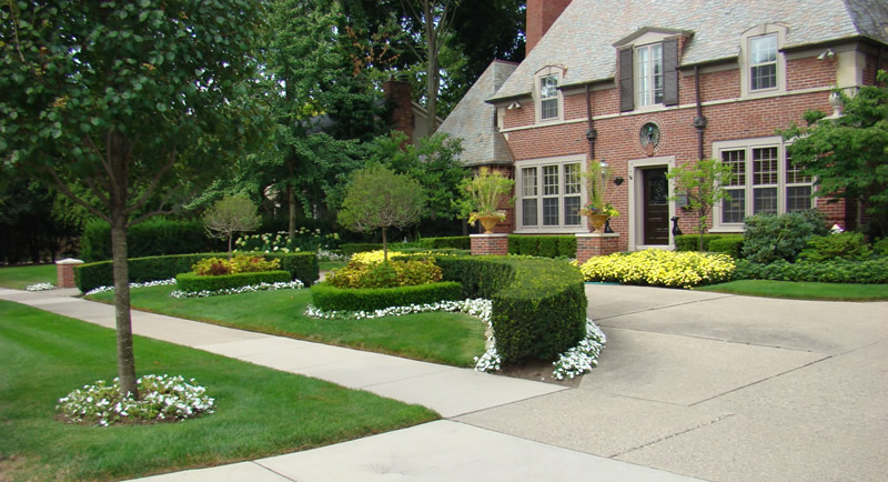 Utica Landscaping Company Provides 5 Landscape Ideas Landscape Design Brick Paving Maintenance Macomb County Oakland County